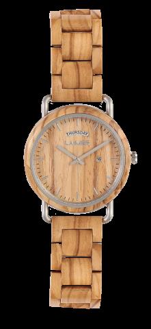 Herrenuhr Holz